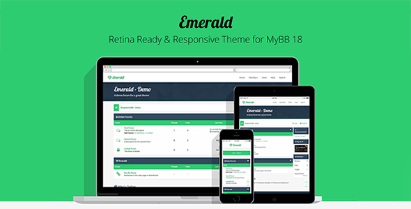 Emerald Theme - Clean & Responsive Theme - 1 8 x - Nulled