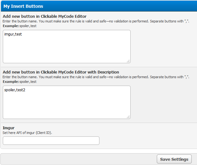 MyBB Community Forums - My Insert Buttons 3 0 0 : Now with